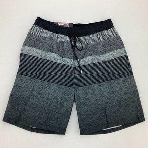 Kirkland | Men's Swim Shorts | Grey | Stripes